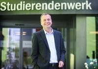Dr. Jens Schröder, Geschäftsführer des Studierendenwerks Bielefeld