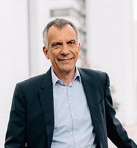 Rektor Prof. Dr.-Ing. Gerhard Sagerer, Foto: Universität Bielefeld/ M.Adamski