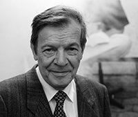 Professor Dr. Dr. h.c. Bernd Fischer. Foto: Universität Bielefeld.