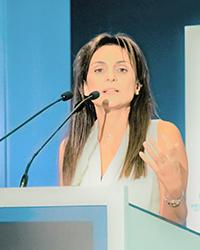 Wirtschaftswissenschaftlerin Professorin Dr. Phoebe Koundouri von der Wirtschaftsuniversität Athen. Foto: Stavros Gianoullis