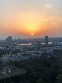 Die lettische Hauptstadt Riga war während eines Praktikums 3 Monate das Zuhause von Malte Bax, Auszubildender im Bielefelder IT-Servicezentrum.