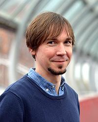 Dr. Tobias Hecker, Foto: Universität Bielefeld