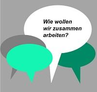 """Im Rahmen des """"WIR-Projekts"""" soll ein gemeinsames Leitbild für unsere Zusammenarbeit in Technik, Verwaltung und Serviceeinrichtungen an der Universität Bielefeld entstehen"""